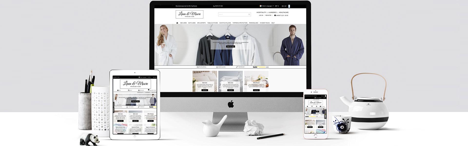 Linen-Moore e-commerce Store